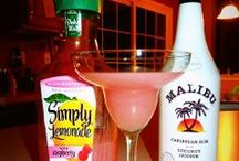 ALCOHOL MIXES / Yummy alcoholic beverages. Who needs a qualified bar tender when you have the recipes online?!