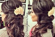 HAIR DO'S / Hair inspiration for all occasions. Daily wear, weddings, ball, fancy dinners.