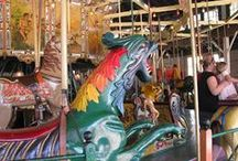 Carousels / Carousels! I'm crazy about them.