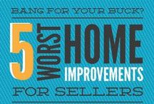 Home Improvement & Real Estate / Welcome! Some ground rules: post useful information, tips, or news for homeowners about home improvement, real estate, remodeling, buying/selling a house, interior design, and home decor. Please do not post irrelevant or bad content, pretty home decor pictures without any useful information, listings, blatant self-promotion, content already pinned here, etc. Also do not pin more than 4 pins back-to-back.  If you are interested in joining, follow us and send an email to lingke@renovatd.com.  / by Constant Home