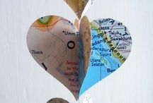 Map craft projects