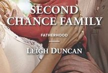 Second Chance Family / My February book from Harlequin American Romance.  It asks the question:  Can this Little League coach become a Major League dad?