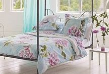 Bed linen & Bedrooms / Bed linen and bedroom furnishing ideas.