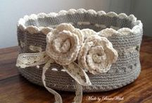 Crochet projects (flowers and more...)