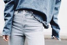 DENIM DAZE / Indigo girls. We love a good pair of jeans and really, any denim outfit.