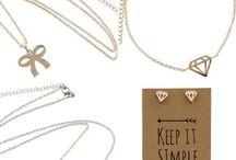 Sjiek Gerei Fashion Jewelry / Sieraden die ik leuk vind xxx
