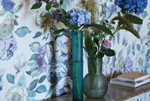 Flower Power / All our favourite florals - Bedlinen, fabric, wallpaper & more