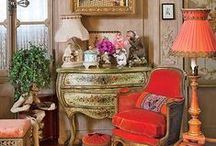 opulent & eclectic interiors / when more is more or when less is not enough!