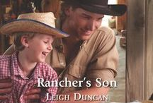 Rancher's Son / Book #4 - The Rancher's Son.   Welcome to the Circle P Ranch, where hunky cowboys find romance.