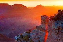 Place#1. Grand Canyon / Uno de los lugares que más me han impresionado a lo largo de mi vida ha sido el grandioso Grand Canyon (AZ), que he tenido la fortuna de visitar en cinco ocasiones, en invierno, primavera y verano. Dos veces por tierra, en un par de viajes legendarios (1984 y 2007), dos en avioneta  y uno en helicóptero durante la década de los 90.