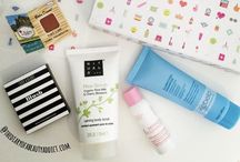 My Subscription Boxes / All the Beauty Treats, Make Up and Luxury Samples from my Monthly Subscription Beauty Boxes! For Full Reviews visit www.TheDiaryofaBeautyAddict.com  #TheBeautyAddict