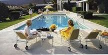 Mid-Century Modern / Our Modernism Collection combines the photography of Slim Aarons, a master chronicler of the mid-century luxury lifestyle, and images that evoke the spirit of the era: the Atomic Age when tiki bars and Mad Men and the Hollywood Rat Pack defined the voice of a generation.