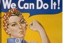 Vintage Posters / Vintage Posters from the WWII Era.