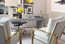 Home Office Design Ideas / How to work from home in style. Best tips - how to design a home office.