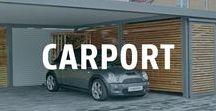 Carport bauen - Ideen / Ein Carport schützt das Auto vor Wettereinflüssen, wie Schnee oder Hagel. Zudem haben immer mehr Familien einen Zweit- oder Drittwagen. Wenn man diesen überdacht parken will, ist ein Carport die beste Idee.