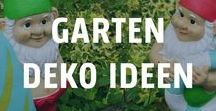 Sommer im Garten - Deko Ideen / Endlich wieder draußen sein! Jetzt heißt es nur noch den Rest vom Winter abschütteln, ein bisschen Farbe in die Beete bringen, die bunten Kissen auf die Gartenmöbel und schon ist die Garten-Saison eröffnet. <3