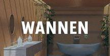 Badewannen - von der freistehenden Wanne bis zum Whirlpool / Was gibt es besseres als sich nach einem anstrengenden Tag ein heißes Bad einzulassen? ♥  Inzwischen gibt es Badewannen aus fast allen erdenklichen Materialien und in den ausgefallensten Formen. Sei es für's eigene Bad oder für den Garten, die richtige Wanne bringt die Wellness-Oase in dein Zuhause.