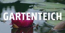 Gartenteich anlegen / Wasser wirkt entspannend und beruhigend. Ein kleiner Teich im eigenen Garten schafft eine besondere Stimmung und ein tolles Erholungsgefühl. Ob klein oder groß, zum Schwimmen oder für Fische - sowieso ist er garantiert ein echter Hingucker!