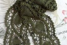 moda crochet y horquilla