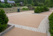 Commercial applications / Photos of applications of our resin based surfaces in larger commercial settings.