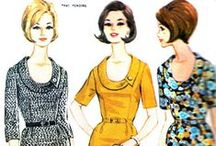 Fashion from fifties and sixties