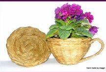 cesteria de papel