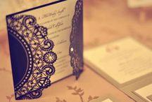 Indian Wedding Invites /  Indian wedding ideas