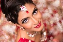 Rock the Red  / The traditional colour for Indian weddings
