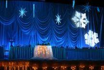 Winter Wonderland Weddings / Purples-Indigos-Blues Wedding Themes