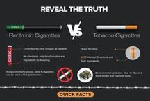 eCig Information / Information and charts about vaping electronic cigarettes vs smoking cigarettes.