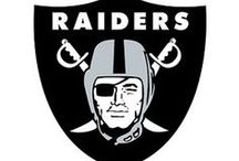 Oakland Raiders / Sports fan gear for the Oakland Raiders football fan.  Bedding, game day gear, decals, party supplies, gifts and other collectible sports merchandise at Team Sports.