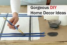 DIY Home Decor / At this board you'll find how to add value to your house. As  this is the place you go back to every night and somehow it doesn't seem right. Enjoy!