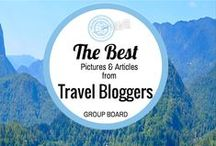 Travel: Best Pictures & Articles / Create & research your travel wish list from the best TRAVEL pictures and articles of my favorite Bloggers. GROUP BOARD: 2 pics per day. Post the best pics or articles - Keep it vertical. Travel Destination only. To join grp board email: info@blueskytraveler.com with your Pinterest email.