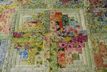 Fabrics,quilts'n stuff. / Fabric addict who sometimes quilts and embroiders  / by Glenice B
