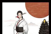 Art & Illustration_My Friends / 仲間のイラスト/作品