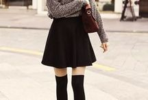 overknees outfit