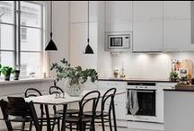 Kitchens we like / We love kitchen and dining. Found out how we would decorate our kitchen here.