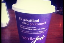 Kampanj NordicFeel / Nordic Feel med sin kampanj i snöyran vintern 2012-2013.