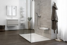 The Glacier Collection / The first ADA and CSA compliant zero threshold shower base on the market provides easy accessibility via a non-slip surface made of WETMAR BiO™ material, while maintaining a high-level of design aesthetic and functionality.