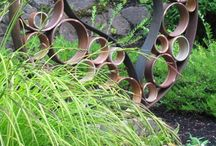 Garden Therapy: Art/Sculpture / by Donja