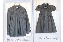 girls' dresses / skirts / DIYs and inspiration... Girls dresses and skirts and everything with it: bows, ribbons. Girly girly.