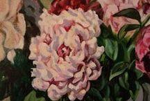 Букет цветов. / Моя работа по живописи.