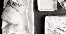 Inspiration Marmor ♥ dhal / Marmor - ein Traum! Nicht nur als Oberfläche macht dieses superspannende Material echt was her - auch als Material für Möbel und Arbeitsflächen sind wir absolut verliebt in diesen Look!