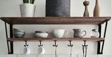 Interior Küche ♥ dhal / Bei uns ist die Küche der absolute Mittelpunkt des Hauses. Hier seht ihr unsere Inspirationen!