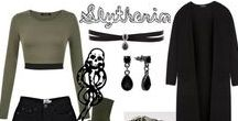 My Dream Outfits / Outfits and Slytherin things