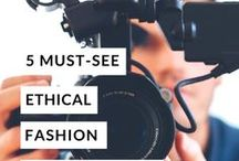 Conscious living Inspo / Ethics and Fashion