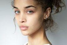 Beautiful faces / Fresh simple makeup.