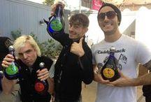 #RockTheShots / Pura Vida Tequila tastes better with music.