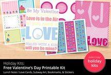Holiday Printables / Holiday & Seasonal Printable Patterns, Decorations, and more!