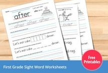 Printables Kids & Learning / printable worksheets, activity books, coloring pages and word search puzzles, plus more